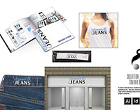 Logo and Collateral Design: Shonnie B Jeans