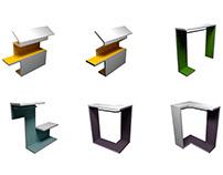 Дизайн пространства магазинов одежды KIXBOX