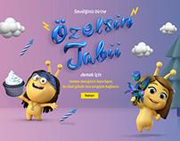 Turkcell/Özelsin Tabi/Microsite