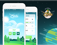 The Legend of Zelda - IOS Mobile Game Concept UI/UX