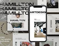 HAMILLTON - Social Media Pack Bundle