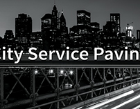 City Service Paving - Trade Show Banner