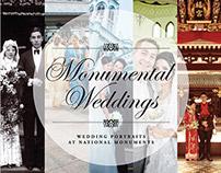Monumental Weddings—Branding