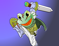 Frog from Chrono Trigger