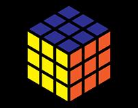 Rubik's Cube Isometric