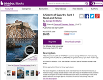 blinkbox Books: details page and book series