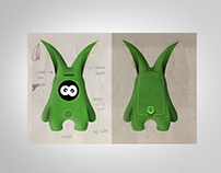 Ilustration - Greenie / Virtual Pet / iPhone Recycling