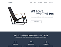 Simple Home Page Design