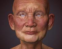 Older Man Zbrush Model