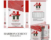 Haribon Cement Packaging Design