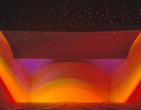 Interior Design: Farb- und Lichtkonzept, Mehrzweckhalle