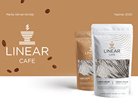 Linear Cafe - Marka Kimlik Çalışması