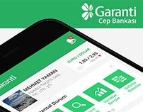 Garanti Cep Subesi App Flat Re-Design