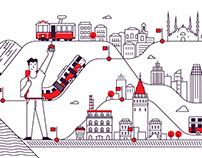 Public transport in Istanbul - IETT