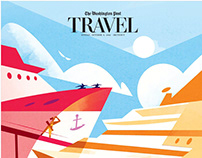 Washington Post Travel - Cruise Issue Cover