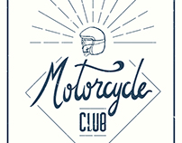 Motorcycle club lettering