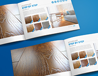 "Catalog Design ""Laminate flooring Westerhof"""