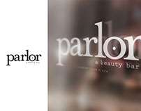 parlor | a beauty bar : Logo Design