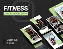 SPORT / FITNESS - instagram template