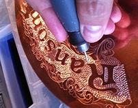 Ransom Distillery Engraved Sill Cap