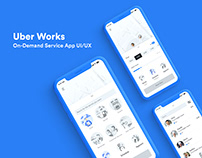 Uber Works | On-Demand Staffing App
