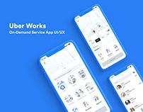 Uber Works | On-Demand Staffing App