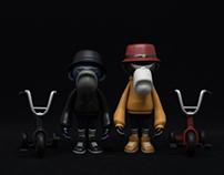 ape hangers / The wizard of TowoOZ / prototypes