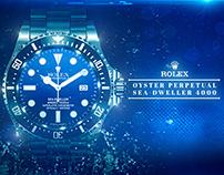 Rolex - '' Oyster Perpetual Sea Dweller 4000 '' - TVC