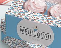 Weirdough Bakery: logo and packaging design