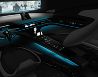 Porsche Memoria Autonom Interior Design Full Project