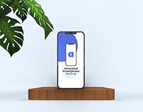 Animated iPhone 12 Pro Max Mockup