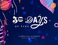 36 DAYS OF TYPE ~ 2019