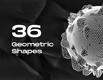 36 Geometric Shapes