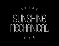 Sunshine Mechanical / Custom Lettering