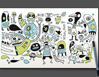DOODLES BUSINESS CARD