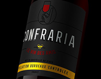 A Confraria Wine Label