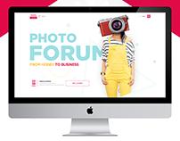Photoforum - WebSite