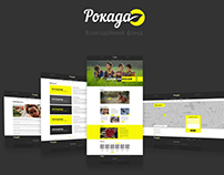 UX/UI/WEB for «Rokada Foundation» Kiev, Ukraine