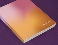 Logo restyles and catalog design for SLIDE design