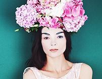 The Girl Loves Flowers