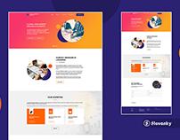 Survey Research Leaders - Web UI Design