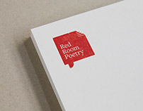 Red Room Poetry - Branding / Collateral / Annual Report