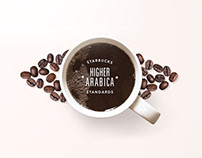 Starbucks: Home Brew Illustration/Online Store Redesign