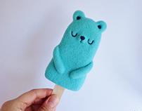 Popsicle Bear - Mint