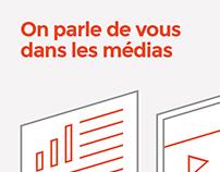 Référence média _ Logo & Site Web