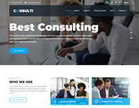 Consulti - Consulting & Business HTML Template
