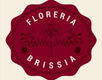 Floreria Brissia Logo Design
