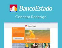 #BancoEstado Concept Redesign