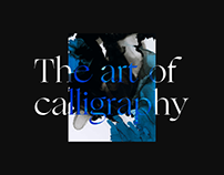 Calligraphy Profession