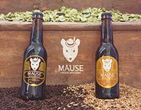 Mause Cerveja Artesanal - Rebrand